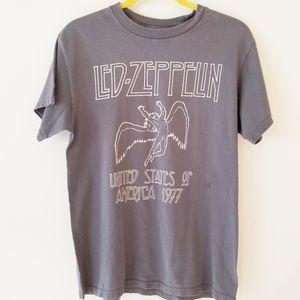 LED ZEPPELIN band graphic tee tshirt